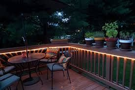 Image Result For Rope Lights Under Deck Rail Backyard Fences