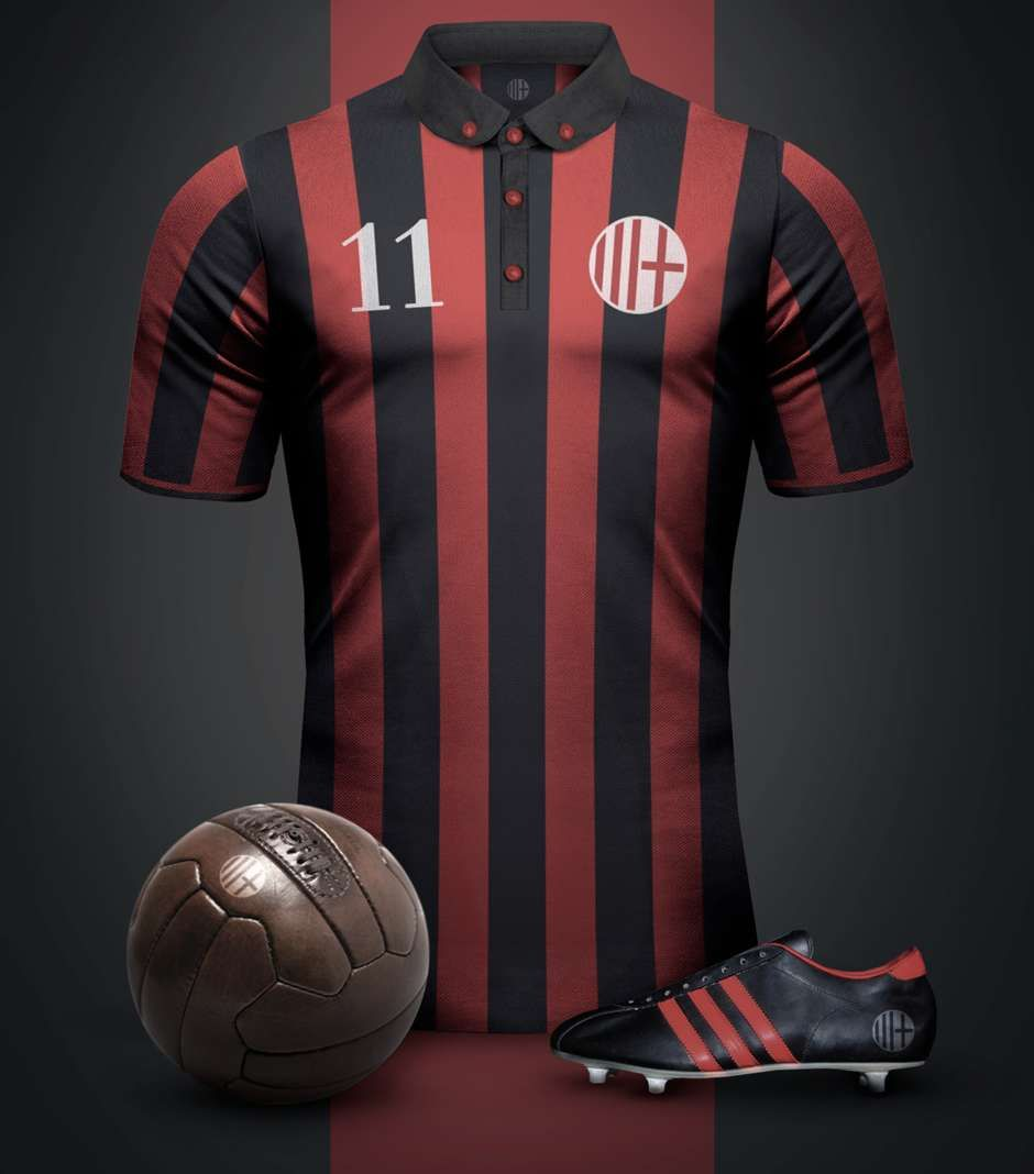 AC Milan Vintage Kits - Goal.com