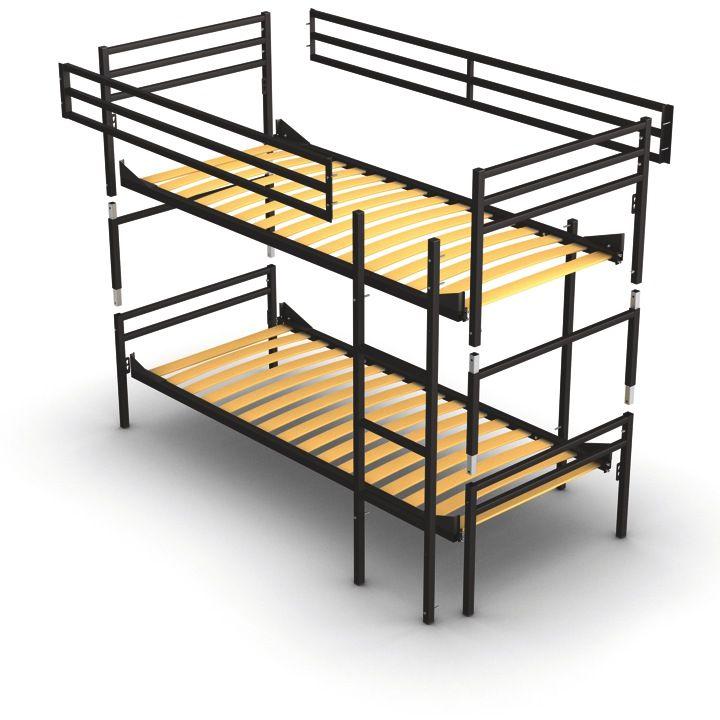 zerlegbares etagenbett f r erwachsene aus metall mit lattenrost stabile ausgabe und hergestellt. Black Bedroom Furniture Sets. Home Design Ideas