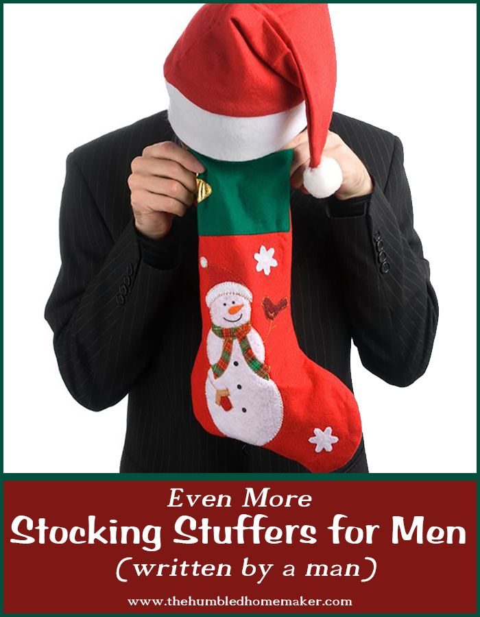 Even More Stocking Stuffers for Men (Written by a Man)