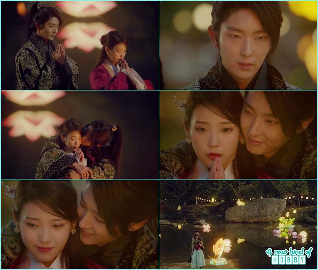 wang so hug hae soo and kiss - Scarlet Heart Ryeo - Episode 18 (Eng