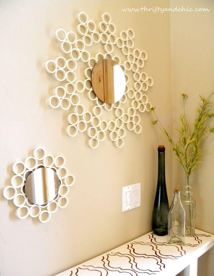 Home » Wall Art » PVC Pipe Bubble Mirror PVC Pipe Bubble Mirror Wall ...