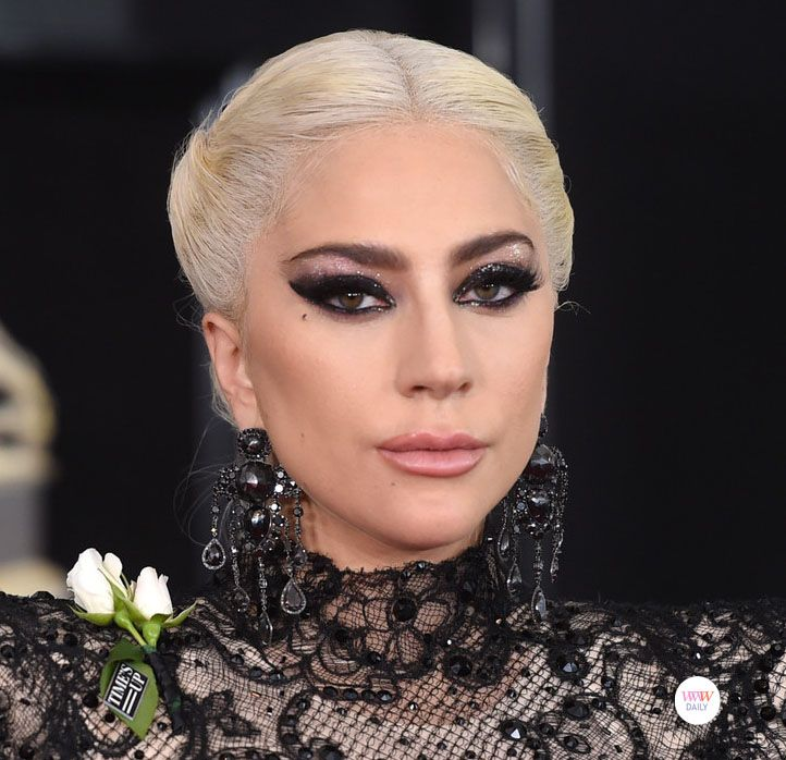 Lady Gaga Wearing Lorraine Schwartz Earrings At The 2018 Grammys
