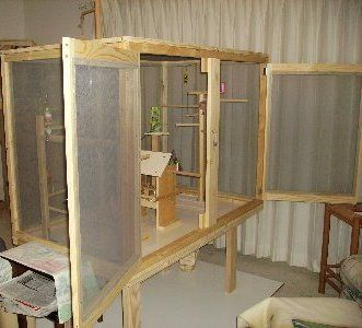 Homemade Canary Cages | Tips On How To Build A Bird Cage: