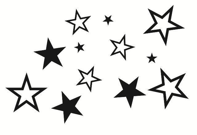 Stars Wall Decals Pack Star Wall Wall Decals Stars