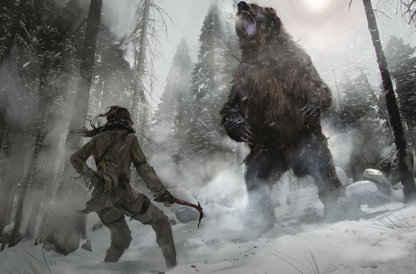 The Concept Art Behind Rise Of The Tomb Raider Concept Art