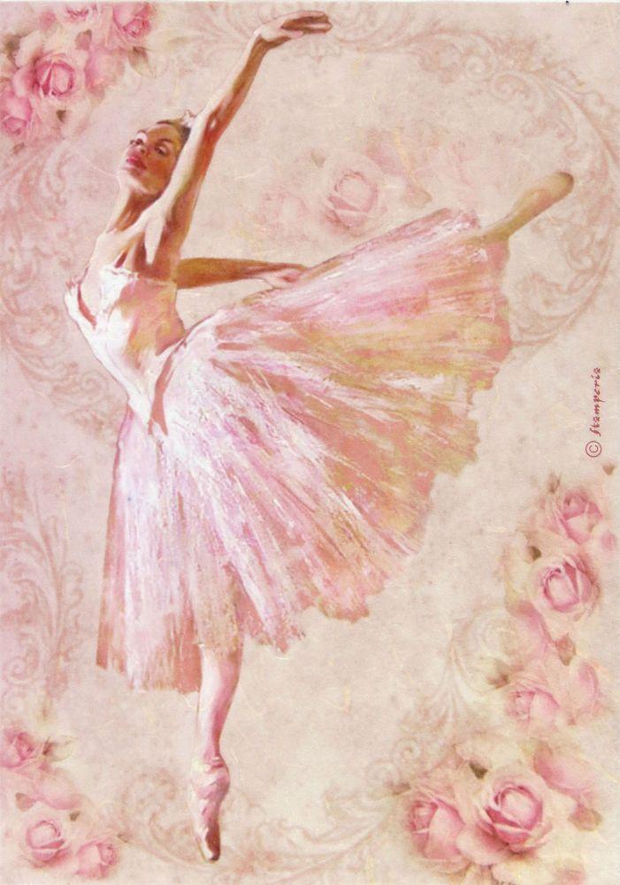 BALLERINA Ballet Scrapbook Stickers and Borders