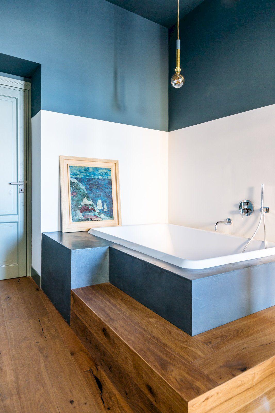 46 pretty blue bathroom designs ideas you can try best
