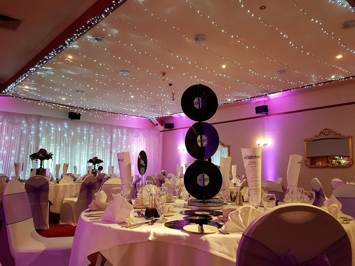 Music Themed Wedding By Eze Events At Dunmar House Alloa Wedding Weddingdecor Ezeevents Music Themed Wedding Wedding Reception Fun Small Wedding Receptions