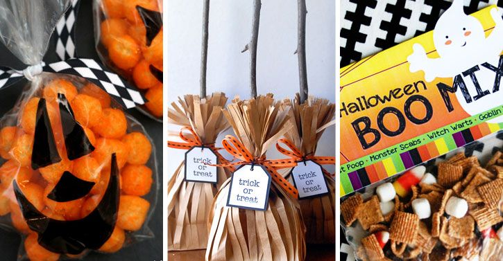 7 Halloween Treat Bag Ideas for 2014 Diy halloween treat bags, Diy - halloween treat bag ideas