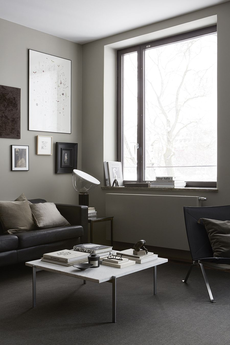 AMM Blog | An Apartment In Teak And Grey, Eastmansvägen 8B