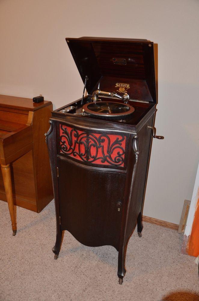Sonora Phonograph | Phonograph & Antique Music Box ...