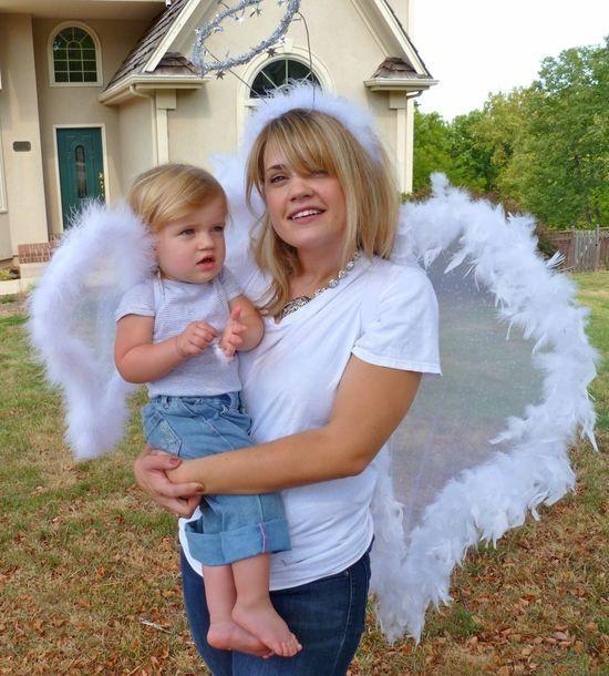 DIY Halloween DIY Costumes DIY Girls Halloween Costumes  Angel - angel halloween costume ideas