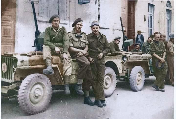 Lrdg Patrol In Greece 1943 Wwii Vehicles Dream Cars Jeep Military Jeep