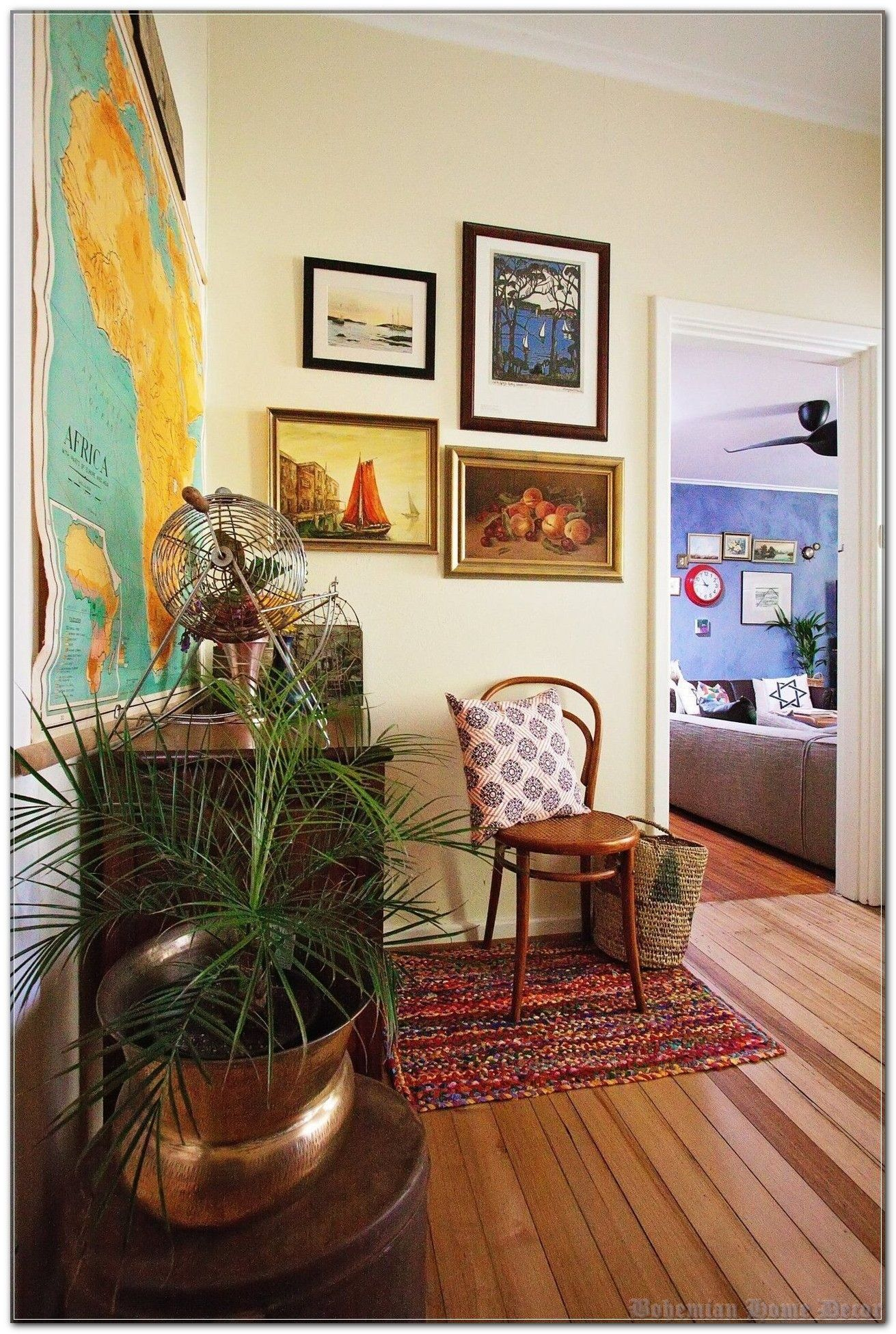 Bohemian Home Decor: Keep It Simple (And Stupid)
