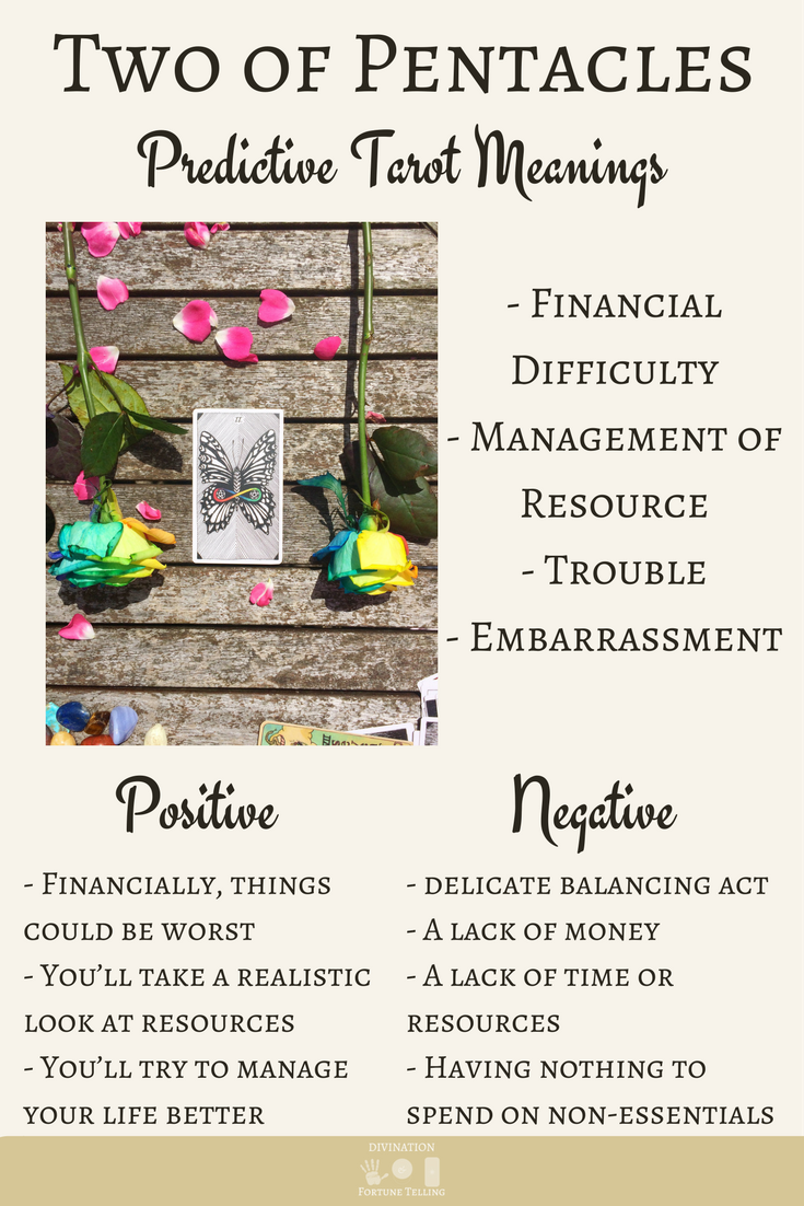 Two of Pentacles: Predictive Tarot Card Meanings | Tarot