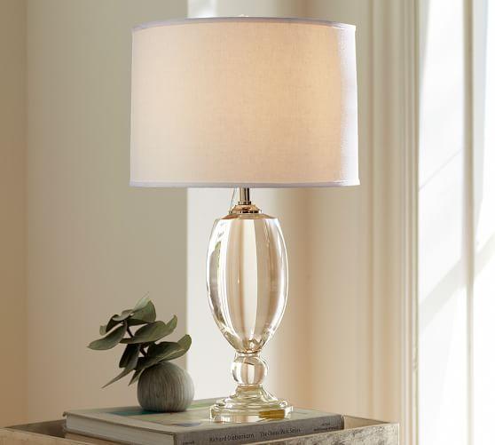 Lexington Crystal Table Lamp Base Pottery Barn Pottery Barn Table Lamp Crystal Table Lamps Table Lamp Base