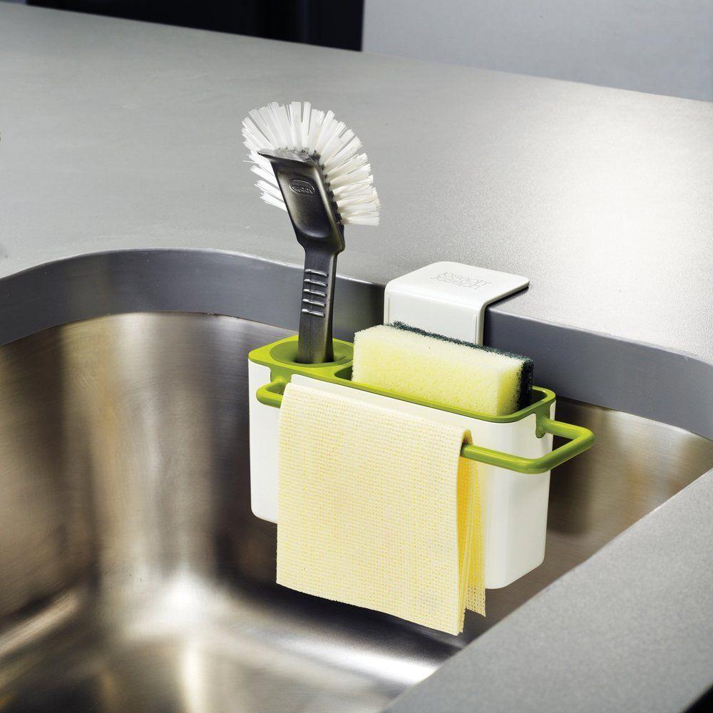 Amazon.co.jp: Joseph Joseph シンクエイド ホワイト/グリーン 850239: ホーム&キッチン