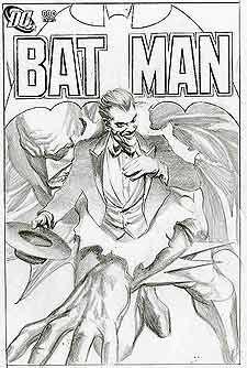 Alex Ross Batman Joker Neal Adams 43 Desenhos