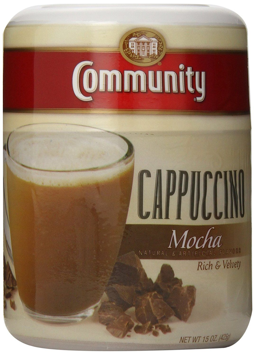 Community coffee instant cappuccino mocha you can find