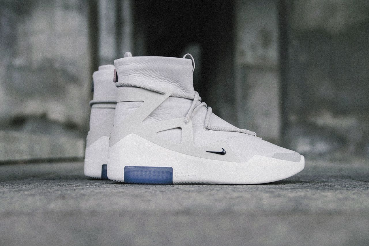 Nike Air Fear of God 1 Sneakers Closer Look Jerry Lorenzo Shoes Trainers  Kicks Footwear Cop Purchase Buy Release Date Details Soon daba94dfe
