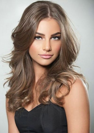 Hair Color For Olive Skin 36 Cool Hair Color Ideas To Look Trendy Be Trendsetter Light Brown Hair Hair Beauty Natural Hair Color