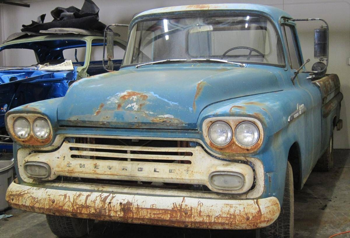 Image 1 Of 2 Chevrolet Apache Sheet Metal Chevrolet Apache Old Trucks Chevy Trucks Older