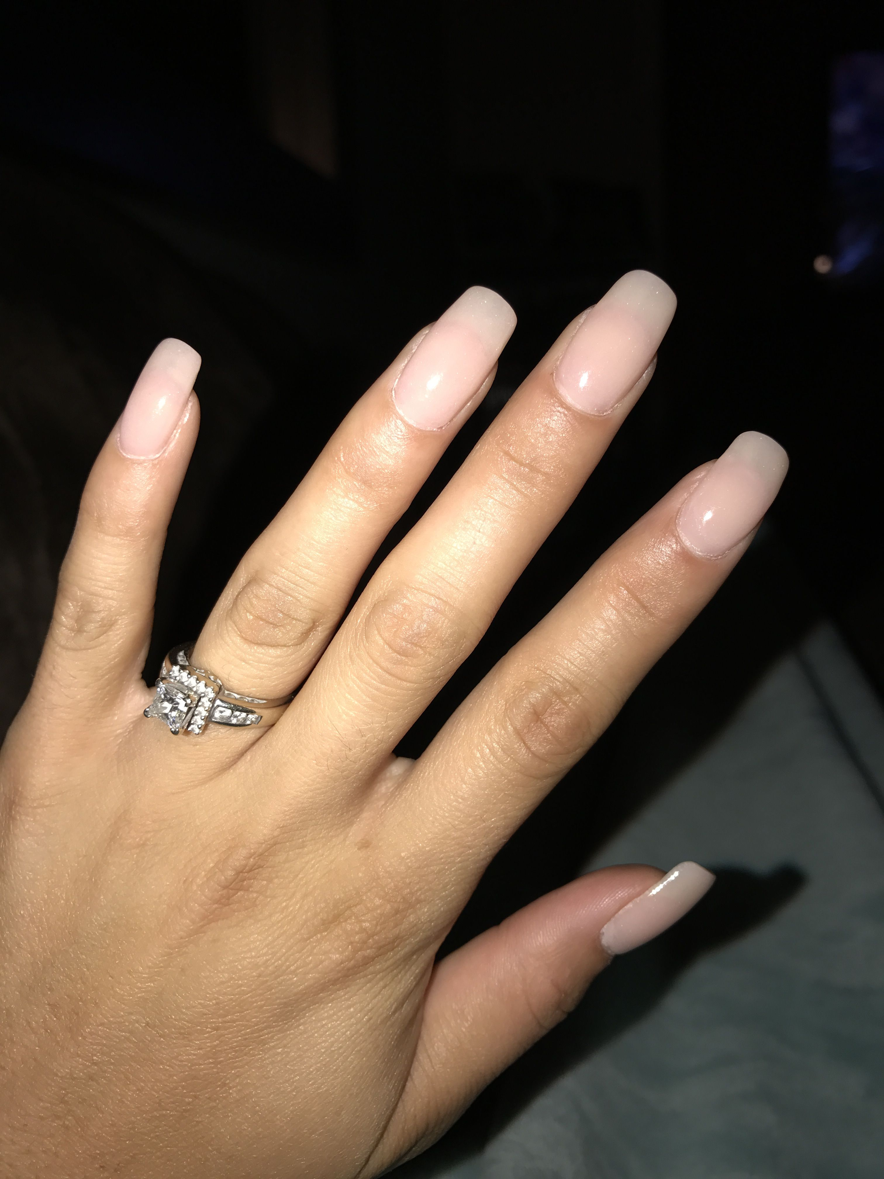 SNS nails done at 5280 nails & spa in Denver. Nail color 134 | Nails ...