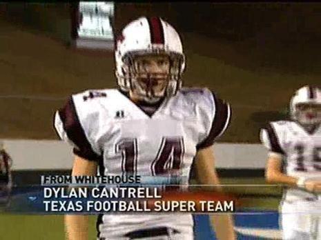Whitehouse Wildcat Dylan Cantrell Named To Texas Football Super Team Ketk Texas Football Texas High School Football Football