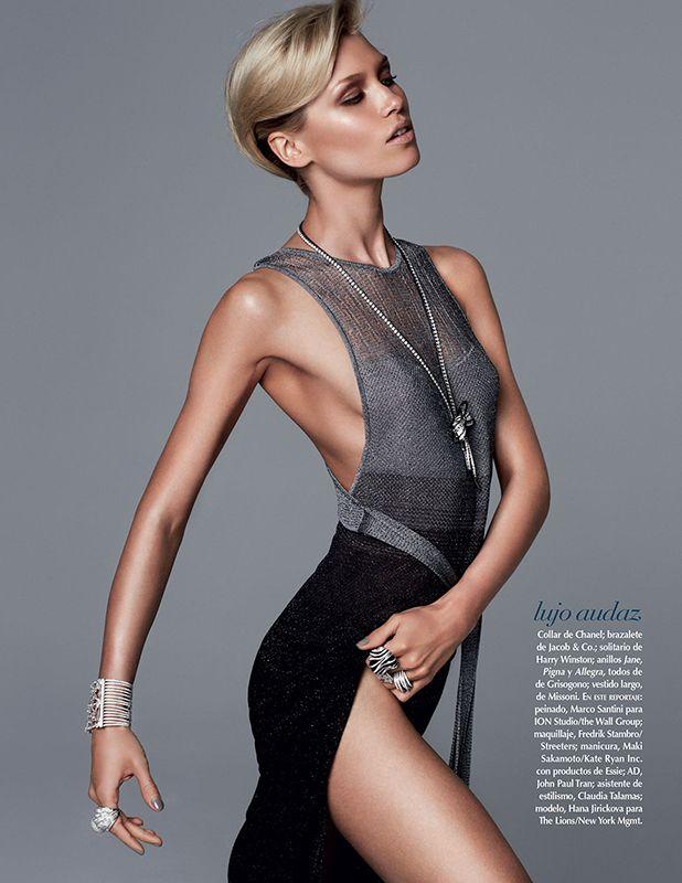 Hana Jirickova by David Roemer for Vogue Mexico Sept 2013 _