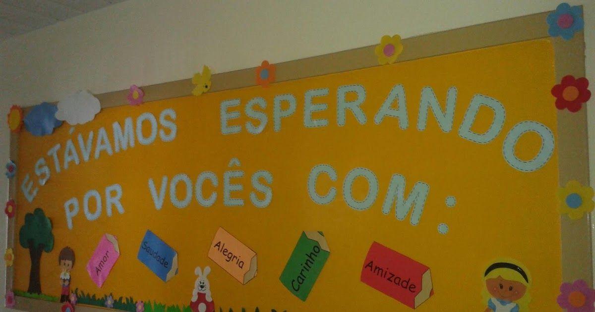 Mural De Boas Vindas 2º Semestre Murais Da Escola Parlendas