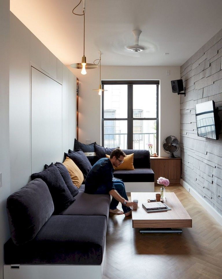 65 Comfy Living Room Ideas For Small Apartments Small Apartment Living Room Small Apartment Interior Small Apartment Living Room Furniture Rental apartment living room decorating