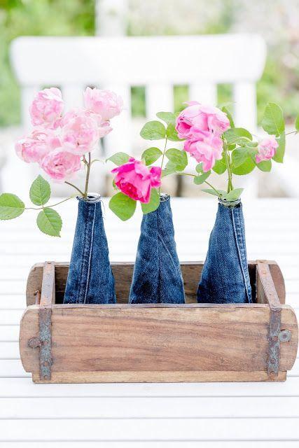 Photo of Nye vasedeksler i et trendy jeans-utseende • Pomponetti