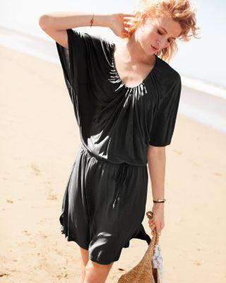 Calvin Klein Caftan Tunic Garnet Hill Style I Like