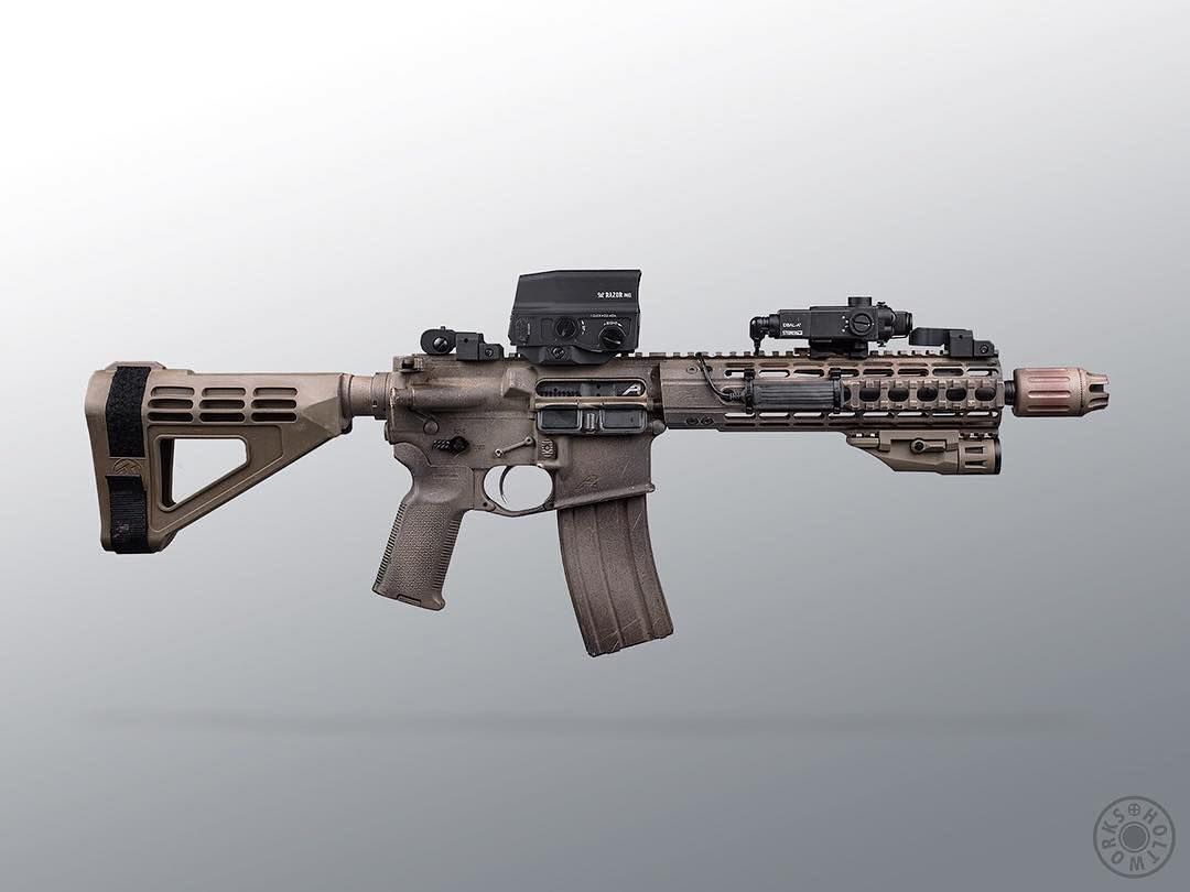 Holtworks My Main Squeeze At Aeroprecision M16a4 Lower Upper