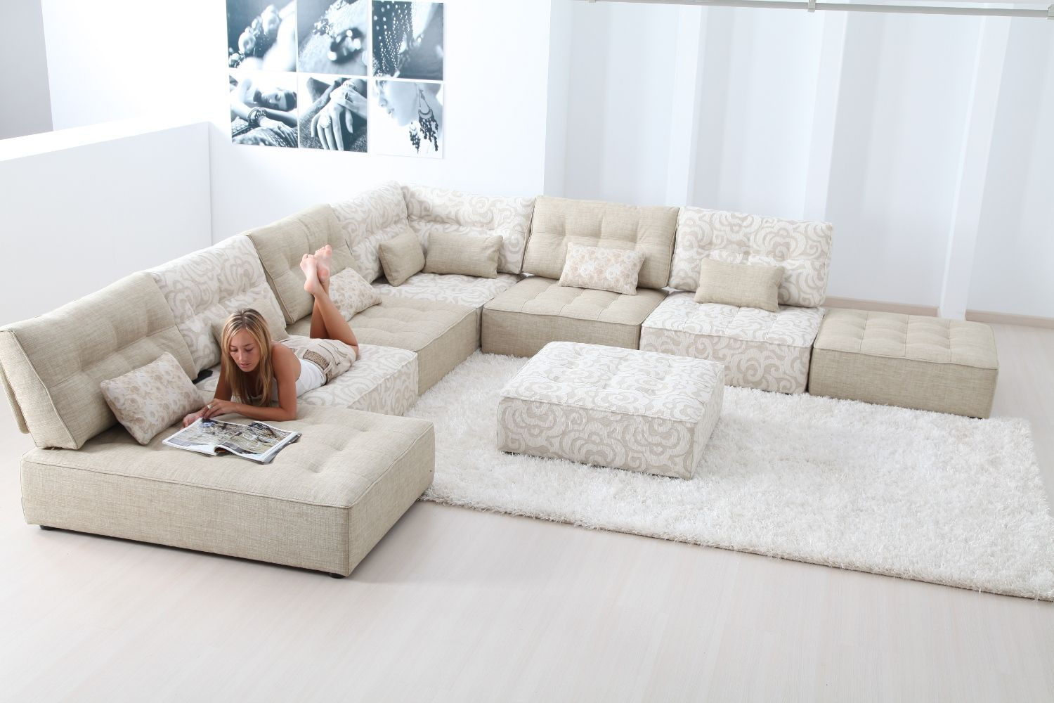 The Fama Arianne Sofa Is A Fun Modern Modular Sofa Design