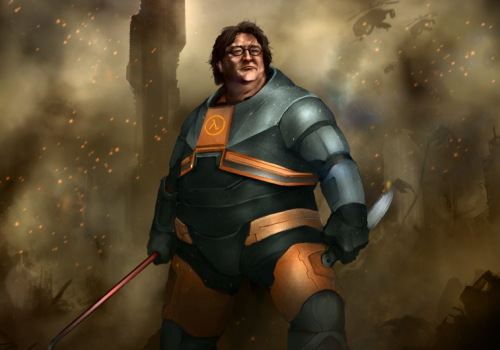 While Employed By Microsoft Gabe Newell Led A Team That Ported What Game To Windows 95 Superhero Teams Newell