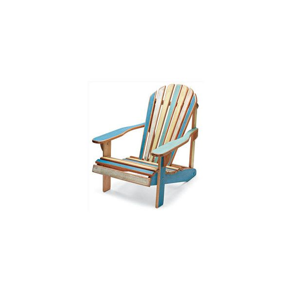 Chasing Fireflies Vintage Adirondack Chair ❤ Liked On Polyvore Featuring  Furniture And Chair