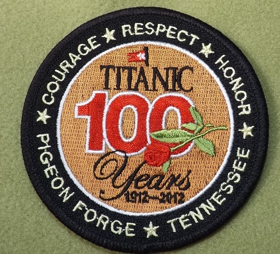 Girl Scouts Southern Appalachia 100th Anniversary Titanic patch ...