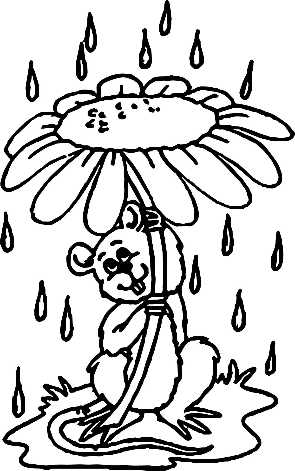 Cool Mouse April Shower Coloring Page Coloring Pages Coloring Pages For Boys April Showers