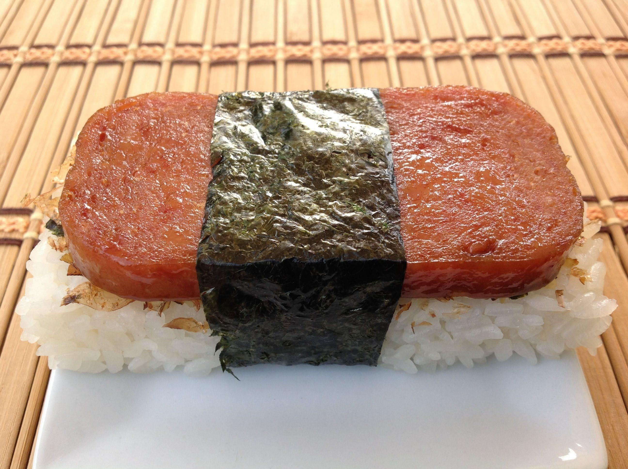 How To Make Spam Musubi-Hawaiian Food Recipes | Hawiian food, Hawaiian  food, Island food