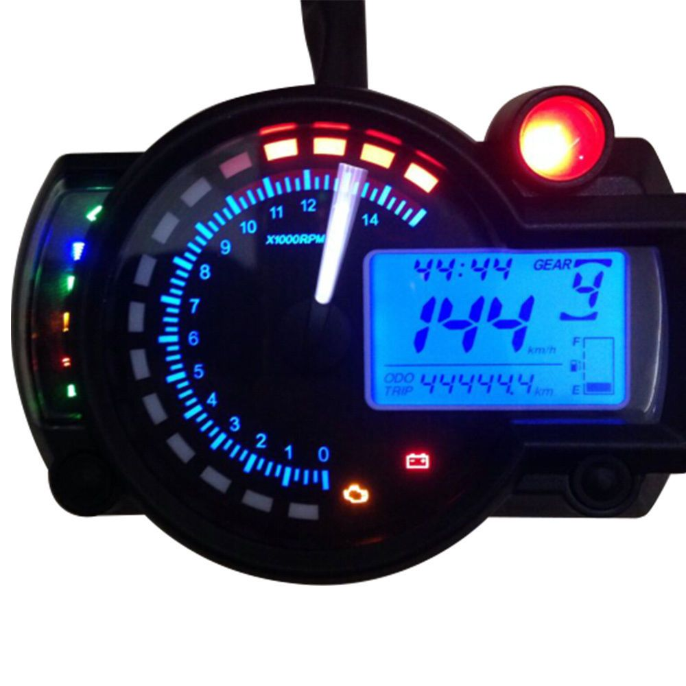 Speedometer Odometer Gauges Analog Classic Style Fits Motorized Bike