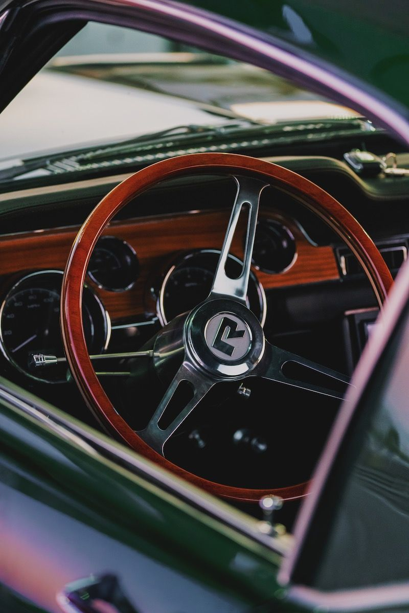 Revology 1968 Mustang Gt 2 2 Fastback R Spec In Highland Green Metallic In 2020 1968 Mustang Gt 1968 Mustang Mustang Gt