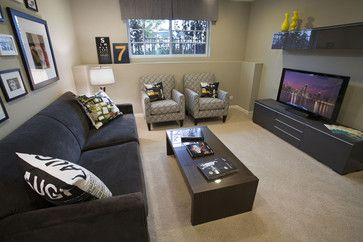 Small Media Rooms Design Ideas, Pictures, Remodel, and Decor | Media ...