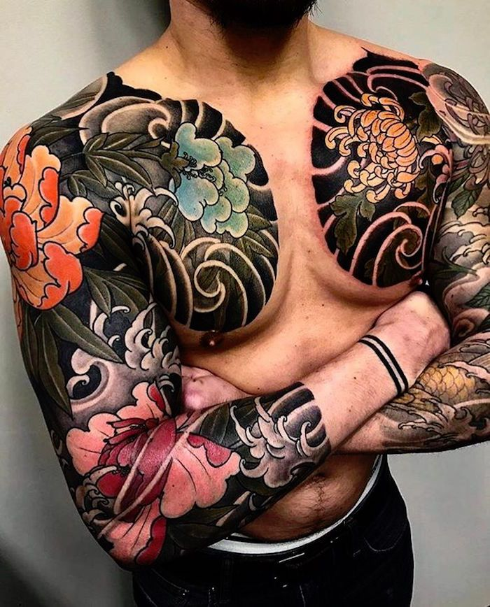 irezumi ou le tatouage japonais traditionnel | japanese tattoos