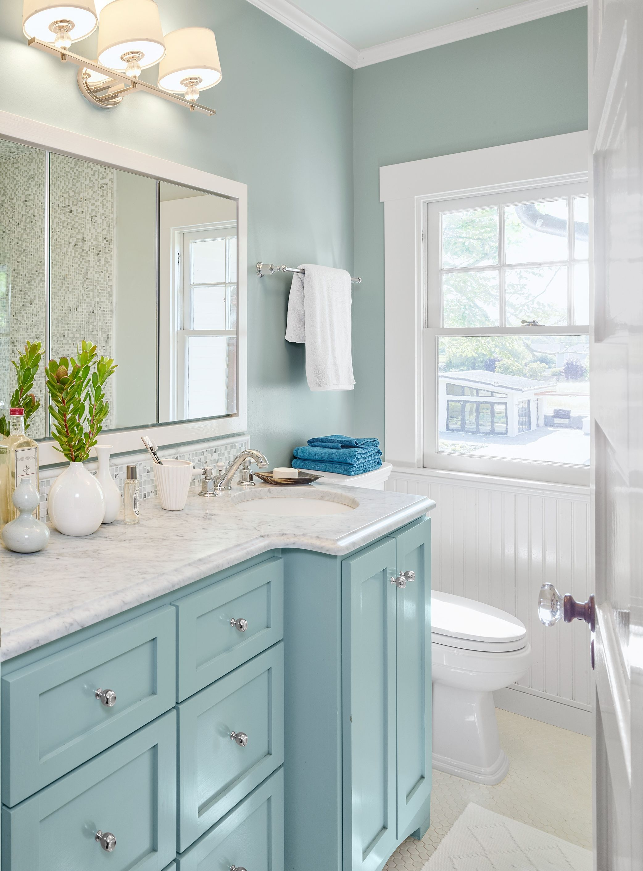 Bright Ideas For A Colorful Whole House Remodel Bathrooms
