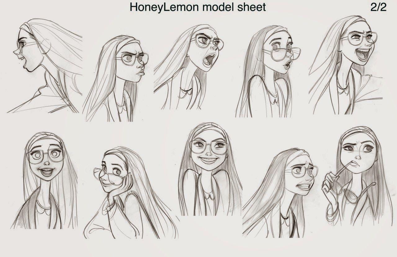 Disney Character Design Internship : Cartoon concept design disney big hero art and