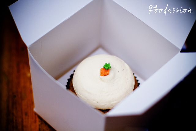 Porkkana-cupcake by Foodassion, via Flickr