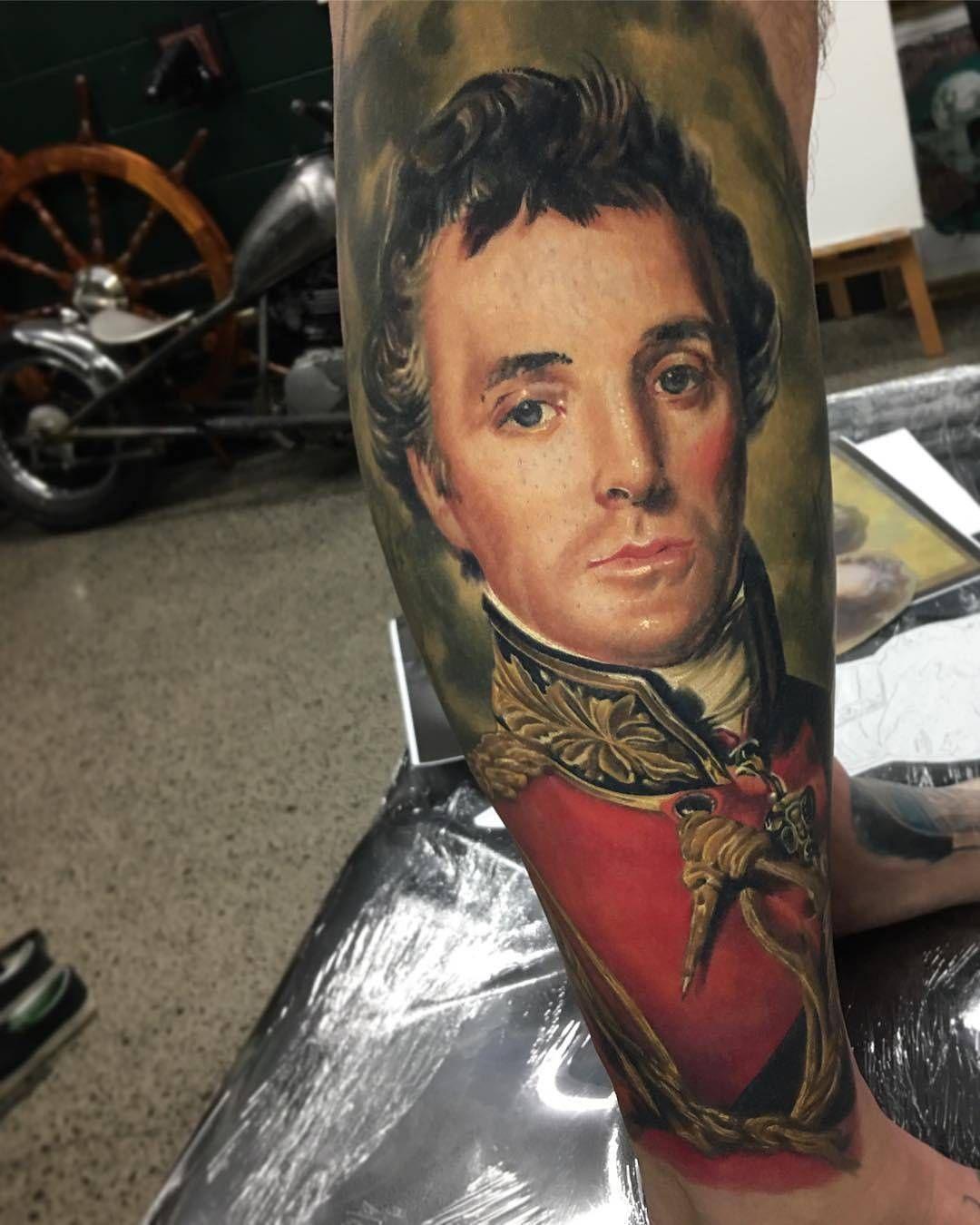 Duke Of Wellington Tattoo By Dbkaye At Ship Shape Tattoo In Orewa