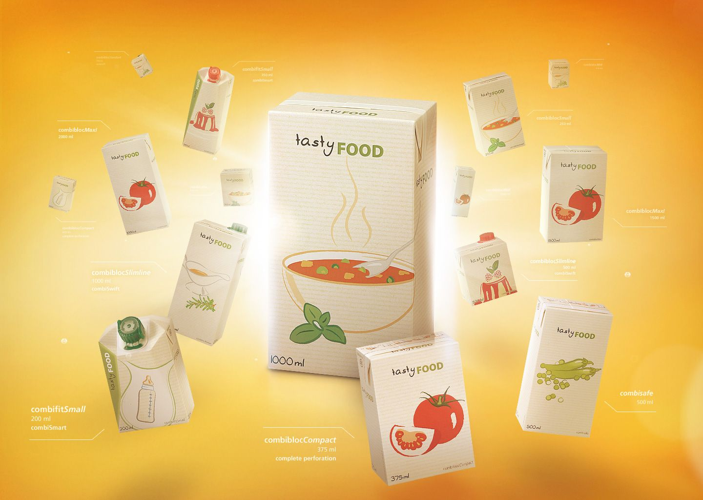 Introvisual for the Food-Packaging portfolio